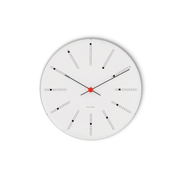 Arne Jacobsen - Bankers Wall Clock Ø 29 cm - White