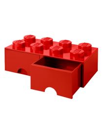 Room Copenhagen - LEGO Brick Skuffekasse 8 - Rød