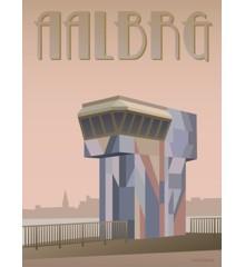 Vissevasse - Aalborg Limfjordsbroen Plakat 30 x 40 cm