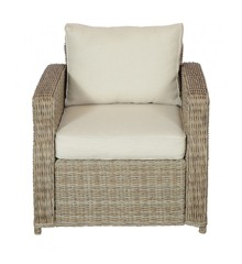 Vila - Gotland Low Garden Chair With Cushion - Nature (624757)