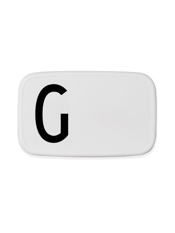 Design Letters  - Personlig Madkasse - G