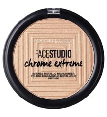 Maybelline - Chrome Extreme Intense Metallic Highlighter - 400 Molten Gold