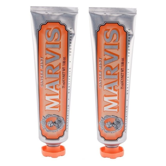 MARVIS - Tandpasta Ginger Mint 2x85 ml