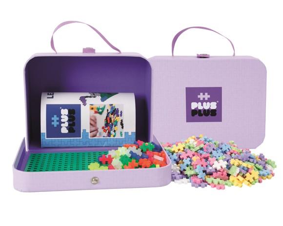 Plus Plus - Suitcase Cardboard - Pastel (2-730)