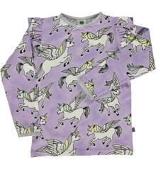 Småfolk - T-Shirt m. Enhjørning Print