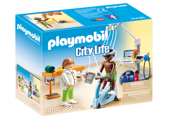 Playmobil - Physical Therapist (70195)