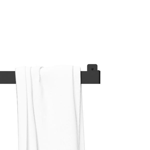 Nichba-Design - Håndklædeholder - Sort