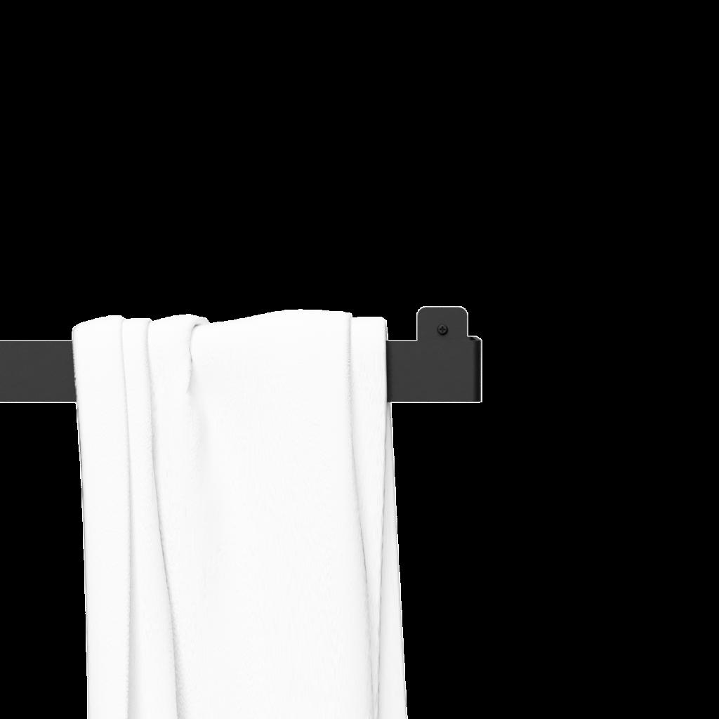 Nichba-Design Handtuchhalter - Schwarz