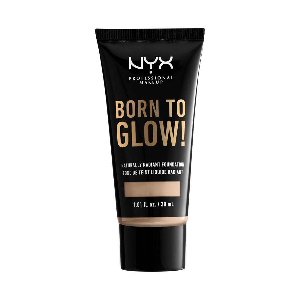 NYX Professional Makeup - Born To Glow Naturally Radiant Foundation - Light