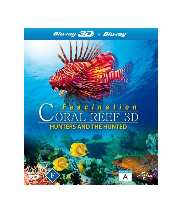 Fascination Coral Reef 3D: Hunters & the Hunted (3D Blu-Ray)
