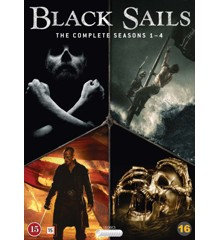 Black Sails: Seasons 1-4 - DVD