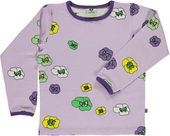 Småfolk - T-shirt w. Flower Print