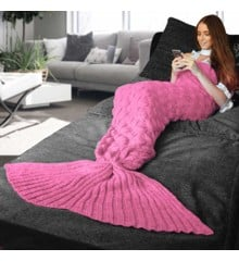Mermaid Tail Blanket - Pink (04345.PK)