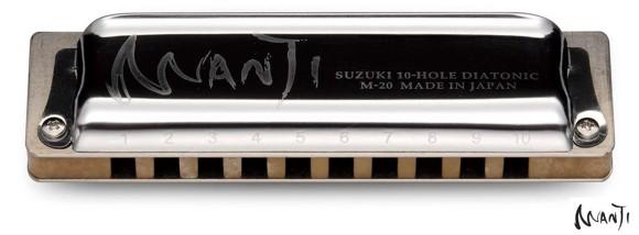 Suzuki - Manji M-20 - Diatonisk Mundharpe (C)