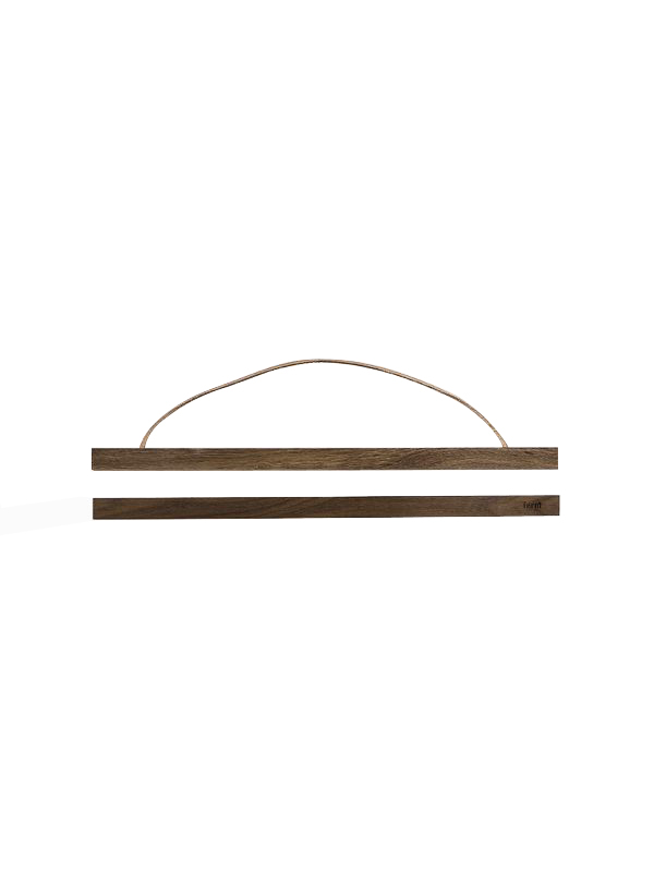 Ferm Living - Wooden Frame Large - Smoked Oak (3138)