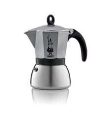 Bialetti - Moka Induction Antracit 6 Cups (4823)