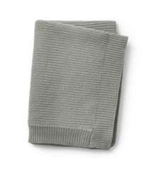 Elodie Details - Wool Knitted Blanket - Mineral Green