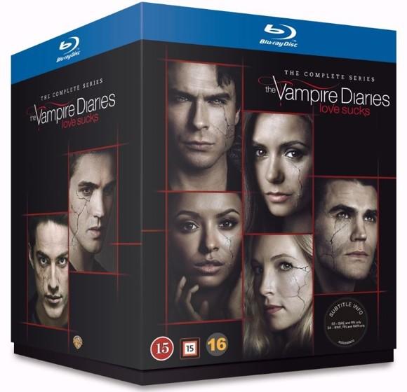 Vampire Diaries, The: Complete Series (Blu-Ray)