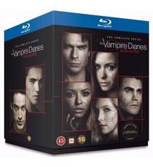 The Vampire Diaries - Sæson 1-8 (Blu-ray)