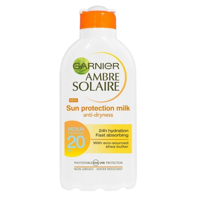 Garnier - Ambre Solaire - Sol Protection Milk 200ml - SPF 20