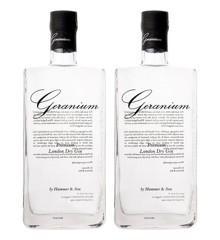 Geranium Gin - Tvillingerne 2 stk. 295,00 kr. pr. fl.