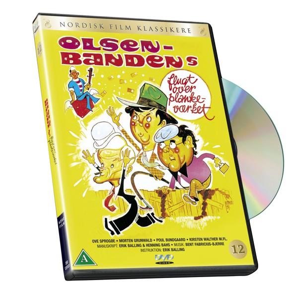 Olsen Banden 12 - Flugten over plankeværket - DVD