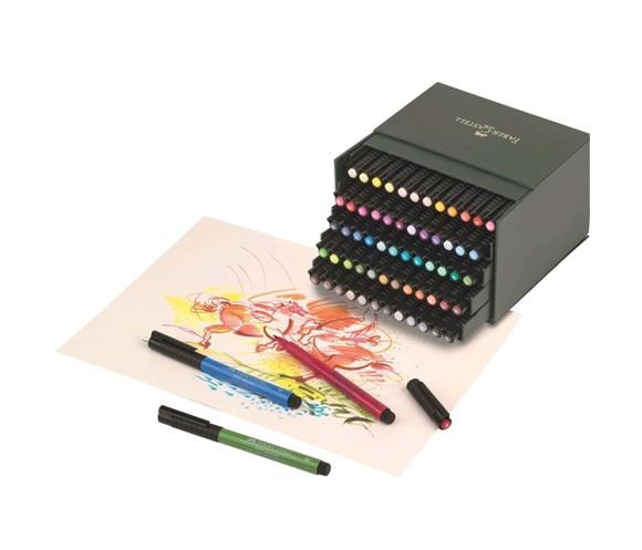 Faber-Castell - PITT Artist Pen Brush - Studio box med 60 stk
