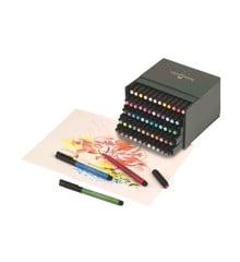 Faber Castell - PITT Artist Pen Brush - Studio box of 60 (167150)