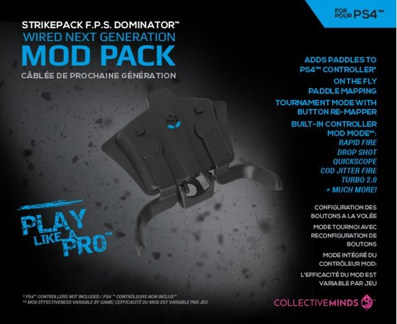 Playstation 4 FPS Strikepack