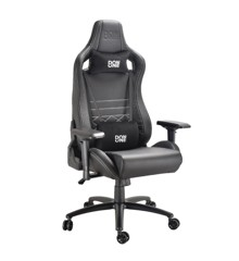 DON ONE - Gambino Gaming Chair Black/Carbon/White stiches