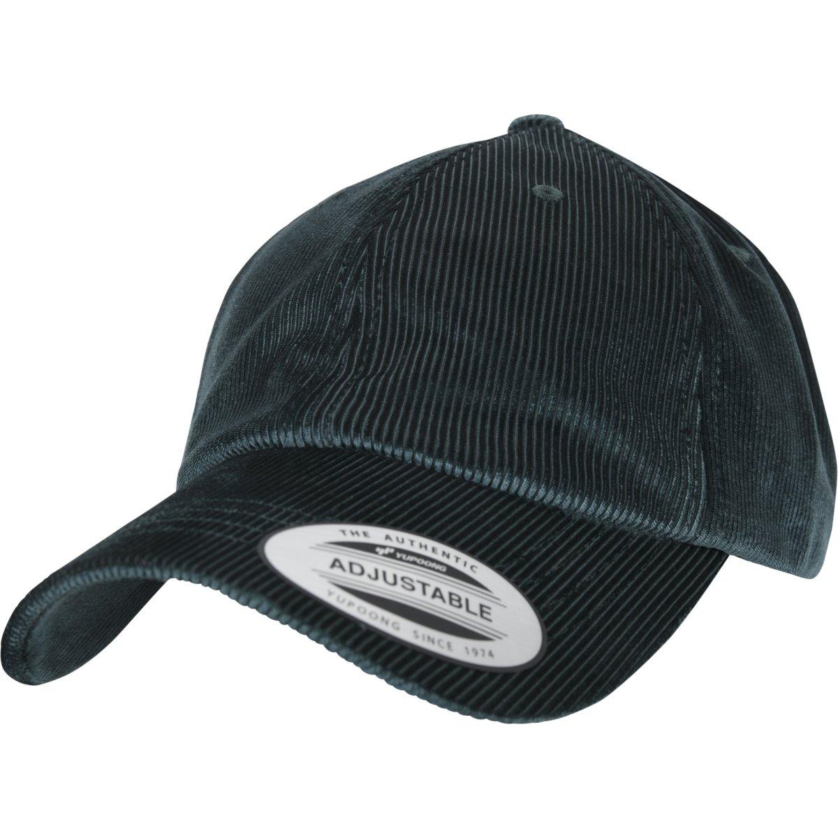 Flexfit Low Profile Corduroy Dad cap Black One Size