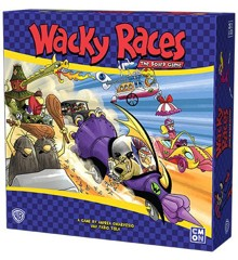 Wacky Races - Board Game (CMNWRA001)