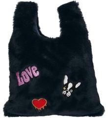 """Top Model - """"Fluffy"""" Handbag - Dog - Navy (0410683)"""