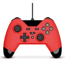 WX4 Wired Controller Red for Switch, PS3 and PC