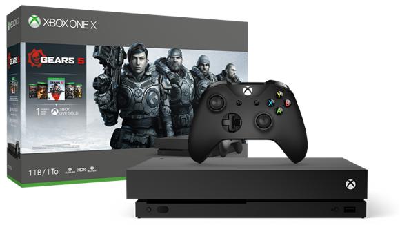 Microsoft Xbox One X - 1TB - (Gears 5 Bundle)