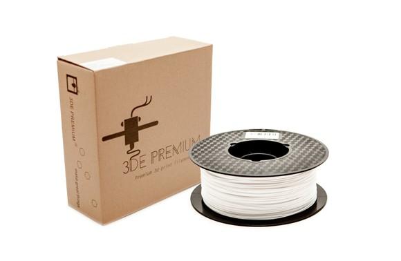 3DE Premium Filament - Snow White - 1.75mm