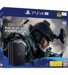 Playstation 4 PRO 1TB (Call of Duty: Modern Warfare Bundle) (Nordic box)