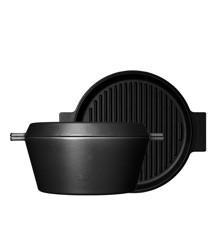 Morsø - Multicocotte Med Grill Låg 4,6 L