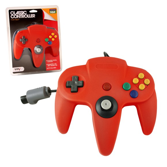 N64 Classic Controller Red TTX