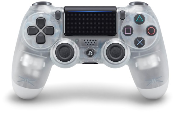 Sony Dualshock 4 Controller v2 - Crystal