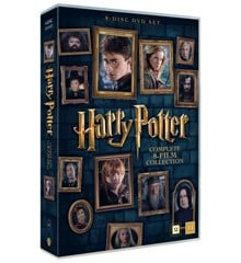 Harry Potter: Den Komplette 8-films Kollektion (8-disc) - DVD