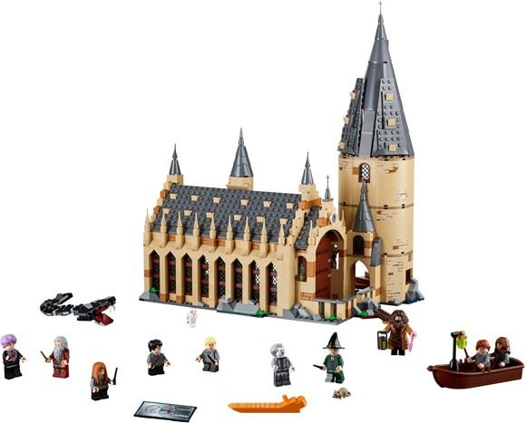LEGO Harry Potter - Hogwarts™ storsal (75954)
