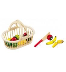 Magni - Fruit basket with 11 pcs fruit and 1 knife