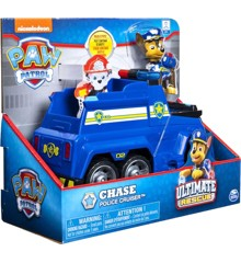 Paw Patrol - Ultimate Tema Køretøj - Chase (6044192C)