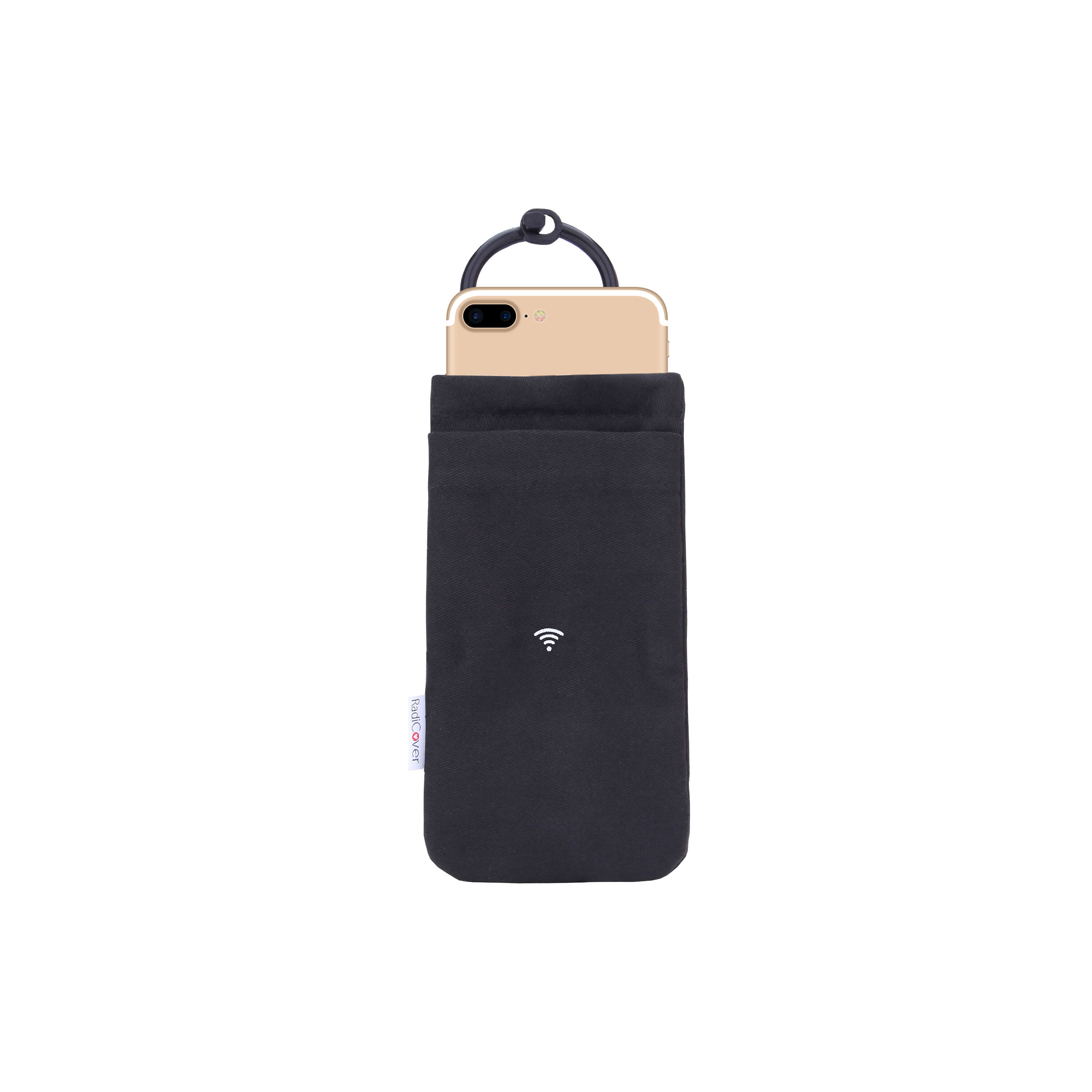 RadiCover - Mobile Phone Pouch - Anti radiation - Small - Black (RAD013)