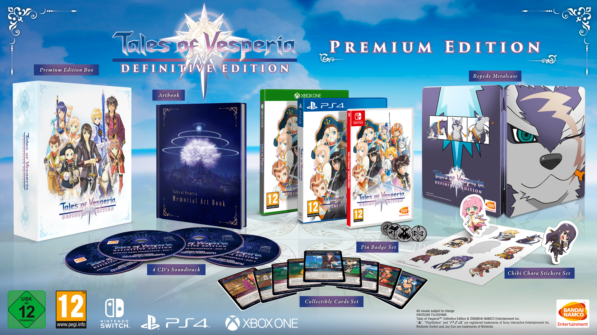 Buy Tales Of Vesperia Definitive Edition Premium Edition