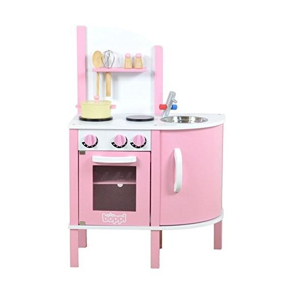 boppi - Wooden Kitchen Playset - 5 Piece W10C070B