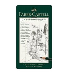 Faber-Castell - CASTELL 9000 blyant DESIGN sæt (119064)