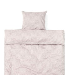 Smallstuff - Baby Bedding 70x100 - Cold Rose