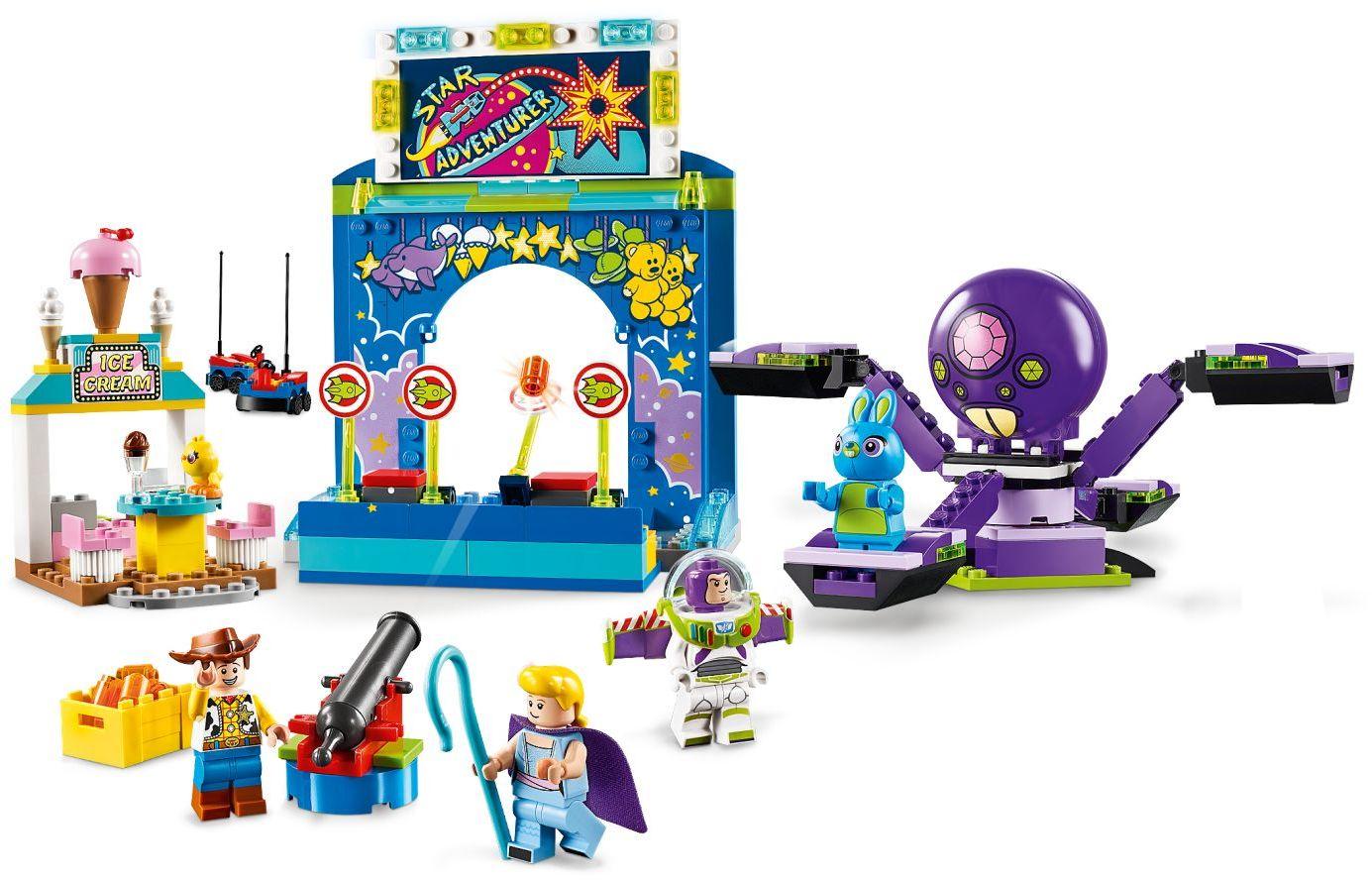 Buzz /& Woody/'s Carnival Mania! Toy Story 4 10770 Lego